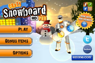 Crazy Snowboard HD Pro [2.9] [iPhone/iPod Touch]